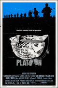 "Movie Posters:Academy Award Winners, Platoon (Orion, 1986). Rolled, Fine/Very Fine. One Sheet (27"" X 41"") SS, Larry Lurin Artwork. Academy Award Winners.. ..."