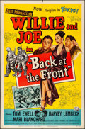 """Movie Posters:Comedy, Back at the Front & Other Lot (Universal International, 1952).Folded, Fine/Very Fine. One Sheets (2) (27"""" X 41""""). Bill Maul...(Total: 2 Items)"""