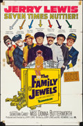 "Movie Posters:Comedy, The Family Jewels & Other Lot (Paramount, 1965). Folded, Fine+.One Sheets (2) (27"" X 41""). Comedy.. ... (Total: 2 Items)"