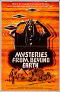"Movie Posters:Documentary, Mysteries from Beyond Earth & Other Lot (CineVue Inc., 1975). Folded, Overall: Very Fine. One Sheets (2) (25.75"" X 39.5"" & 2... (Total: 2 Items)"