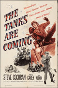 """Movie Posters:War, The Tanks are Coming & Other Lot (Warner Brothers, 1951).Folded, Fine/Very Fine. One Sheets (3) (27"""" X 41""""). War."""