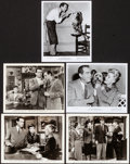 """Movie Posters:Thriller, Above Suspicion & Other Lot (MGM, 1943). Overall: Very Fine-.Photos (4) (8"""" X 10"""" 8"""" X 10.25"""") & Trimmed Photo (8"""" X9.75"""")... (Total: 5 Items)"""