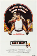 """Movie Posters:Drama, Hard Times & Other Lot (Columbia, 1975). Folded, Very Fine-.One Sheets (3) (27"""" X 41"""") Len Goldberg Artwork. Drama."""