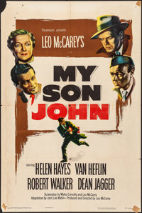 """My Son John & Other Lot (Paramount, 1952). Folded, Fine+. One Sheets (3) (27"""" X 41""""). Drama. ... (Total: 3..."""