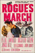 """Movie Posters:War, Rogue's March & Other Lot (MGM, 1953). Folded, Overall:Fine/Very Fine. One Sheets (3) (27"""" X 41""""). War.. ... (Total: 3Items)"""