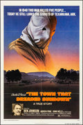 "Movie Posters:Thriller, The Town That Dreaded Sundown & Other Lot (American International, 1977). Folded, Very Fine-. One Sheets (2) (27"" X 41"") & U... (Total: 3 Items)"