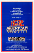 """Movie Posters:Comedy, More American Graffiti (Universal, 1979). Folded, Very Fine. OneSheets (2) (27"""" X 41""""), Lobby Card Set of 4 (11"""" X 14""""), & ...(Total: 7 Items)"""