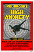 """Movie Posters:Comedy, High Anxiety & Other Lot (20th Century Fox, 1977). Folded, VeryFine. One Sheets (3) (27"""" X 41"""") & Uncut Pressbooks (2) (8.5...(Total: 5 Items)"""