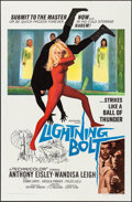 """Movie Posters:Action, Lightning Bolt & Other Lot (Woolever Brothers, 1967). Folded,Overall: Fine/Very Fine. One Sheets (3) (27"""" X 41""""). Action.. ...(Total: 3 Items)"""