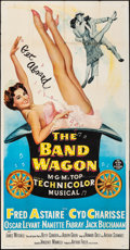 "Movie Posters:Musical, The Band Wagon (MGM, 1953). Fine/Very Fine. Three Sheet (41"" X78.5""). Musical.. ..."