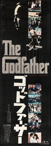 """Movie Posters:Crime, The Godfather (Paramount, 1972). Very Fine- on Linen. Japanese STB(20.25"""" X 57.5""""). Crime.. ..."""