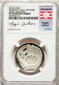 2014-S 50C Baseball Hall of Fame Half Dollar, Reggie Jackson, Early Releases, PR70 Ultra Cameo NGC. NGC Census: (0). PCG...