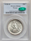 Commemorative Silver, 1938-D 50C Texas MS66 PCGS. CAC. PCGS Population: (336/113). NGC Census: (312/105). CDN: $380 Whsle. Bid for problem-free N...