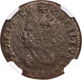 (1659) Maryland Lord Baltimore Denarius (Penny) -- Corrosion -- NGC Details. VG. Hodder 1-A, W-1000, R.7....(PCGS# 29)