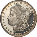 Morgan Dollars, 1904-O $1 MS67 Deep Prooflike NGC....