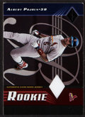 Baseball Cards:Singles (1970-Now), 2001 Leaf Limited Albert Pujols Rookie Jersey #'d 126/250. ...