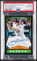 Baseball Cards:Singles (1970-Now), 2018 Topps Brooklyn Collection Jeff Bagwell Autograph (Black)#BC2-JB PSA Gem Mint 10....
