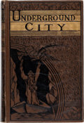 Books:First Editions, Jules Verne Underground City First American Illustrated Edition (Porter & Coates, 1878-1883)....