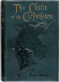 Books:First Editions, Jules Verne The Castle of the Carpathians First British Edition (Sampson Low, Marston & Co., 1893)....