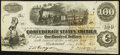 Confederate Notes:1862 Issues, T40 $100 1862 PF-2 Cr. 306 Extremely Fine.. ...
