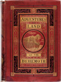 Books:First Editions, Jules Verne Adventures in The Land of The Behemoth First American Edition (Henry L. Shepard & Co., 1874)....