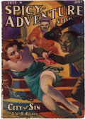 Pulps:Adventure, Spicy Adventure Stories - July 1938 (Culture) Condition: GD/VG....
