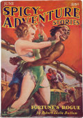 Pulps:Adventure, Spicy Adventure Stories - June 1935 (Culture) Condition: VG/FN....