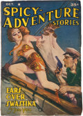 Pulps:Horror, Spicy Adventure Stories - October 1941 (Culture) Condition: VG-....