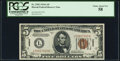 Small Size:World War II Emergency Notes, Fr. 2302 $5 1934A Hawaii Federal Reserve Note. PCGS Choice About New 58.. ...