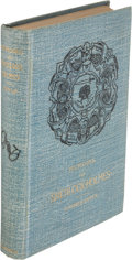 """Books:Mystery & Detective Fiction, A. Conan Doyle. Two Copies of Memoirs of Sherlock Holmes. New York: 1894. First U. S. edition, one """"New and Revised.... (Total: 2 Items)"""