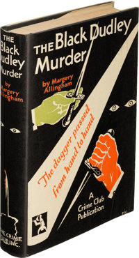 Margery Allingham. The Black Dudley Murder. Garden City: The Crime Club, Inc., 1929. First U. S. edition