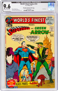 World's Finest Comics #210 Murphy Anderson File Copy (DC, 1972) CGC NM+ 9.6 Off-white to white pages
