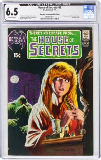 House of Secrets #92 Murphy Anderson File Copy (DC, 1971) CGC FN+ 6.5 Off-white pages