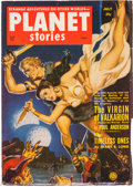 Pulps:Science Fiction, Planet Stories V5#1 Yakima Pedigree (Fiction House, 1951) Condition: FN-....