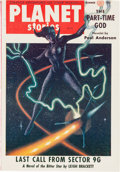 Pulps:Science Fiction, Planet Stories V6#11 Yakima Pedigree (Fiction House) Condition: FN....