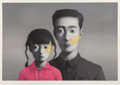 Prints & Multiples:Contemporary, Zhang Xiaogang (Chinese, b. 1958). Untitled (Big Family) from the series Bloodline, 2007. Lithograph in colors on wo...