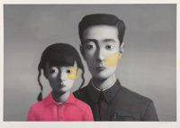 Zhang Xiaogang (Chinese, b. 1958) Untitled (Big Family) from the series Bloodline, 2007 L