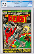 Bronze Age (1970-1979):Superhero, Amazing Adventures #13 The Beast (Marvel, 1972) CGC VF- 7.5 Off-white to white pages....