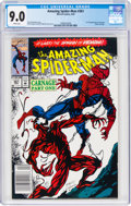Modern Age (1980-Present):Superhero, The Amazing Spider-Man #361 (Marvel, 1992) CGC VF/NM 9.0 White pages....