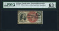 Fractional Currency:Fourth Issue, Fr. 1269 15¢ Fourth Issue PMG Choice Uncirculated 63 EPQ.. ...