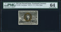 Fractional Currency:Second Issue, Fr. 1322 50¢ Second Issue PMG Choice Uncirculated 64.. ...