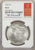 Morgan Dollars: , 1903-O $1 MS64 NGC. NGC Census: (3062/1818). PCGS Population: (5047/3504). CDN: $425 Whsle. Bid for problem-free NGC/PCGS M...