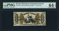 Fractional Currency:Third Issue, Fr. 1345 50¢ Third Issue Justice PMG Choice Uncirculated 64 EPQ.. ...
