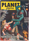 Pulps:Science Fiction, Planet Stories V3#7 Yakima Pedigree (Fiction House, 1947) Condition: VG/FN....