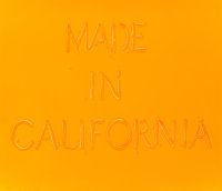 Ed Ruscha (b. 1937) Made in California, 1971 Lithograph in colors on Arches paper 20-1/8 x 28 inc
