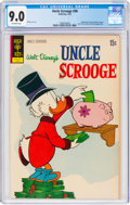 Bronze Age (1970-1979):Cartoon Character, Uncle Scrooge #98 (Gold Key, 1972) CGC VF/NM 9.0 Off-white pages....