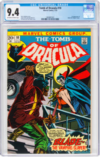 Tomb of Dracula #10 (Marvel, 1973) CGC NM 9.4 Off-white to white pages