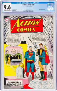 Action Comics #307 (DC, 1963) CGC NM+ 9.6 Off-white to white pages