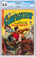 Golden Age (1938-1955):Western, Gunfighter #8 File Copy (EC, 1949) CGC FN 6.0 Slightly brittle pages....