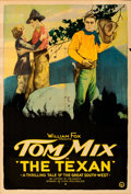 "The Texan (Fox, 1920). Folded, Fine+. One Sheet (27"" X 41"")"